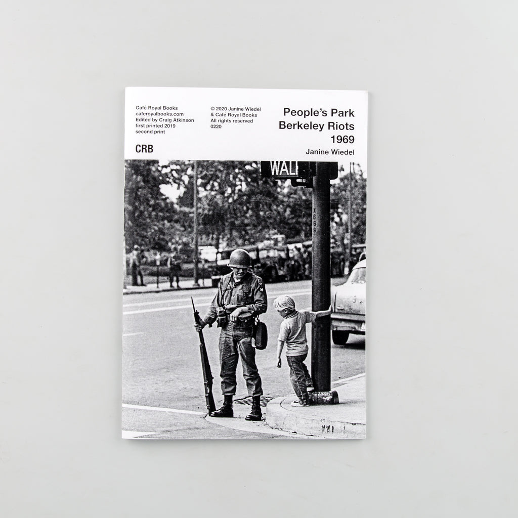 People's Park Berkeley Riots 1969 by Janine Wiedel - 1