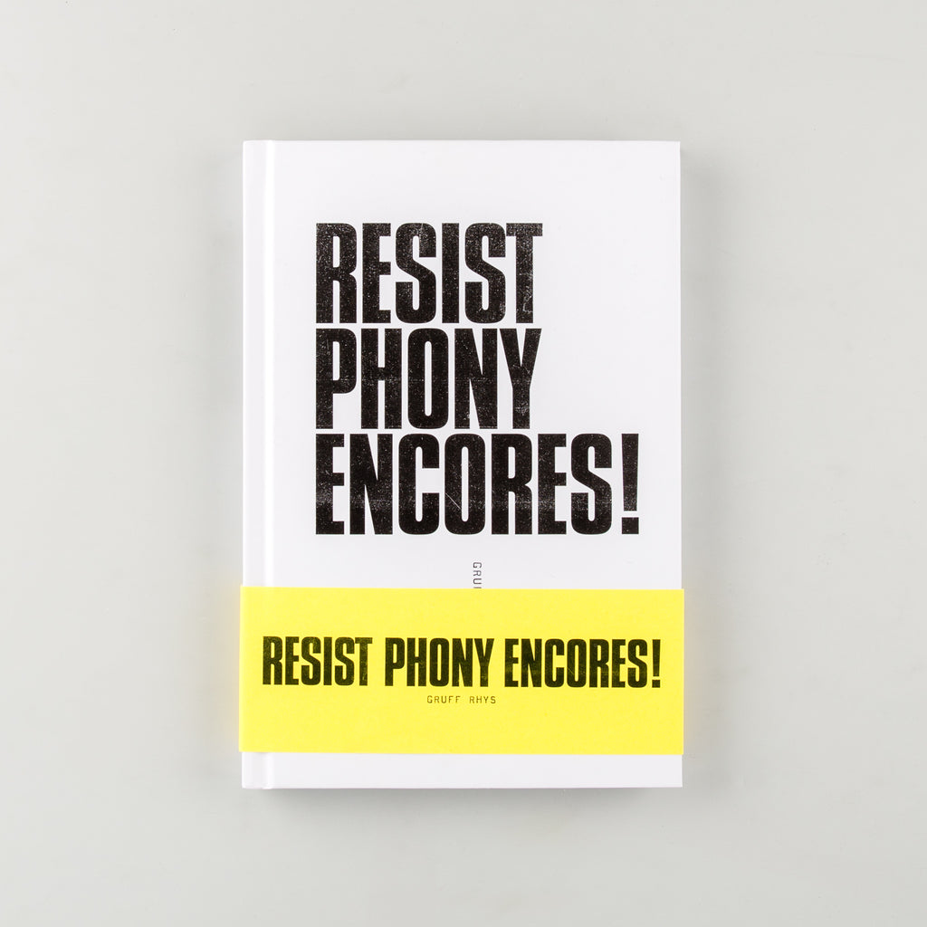 Resist Phony Encores! by Gruff Rhys - Cover