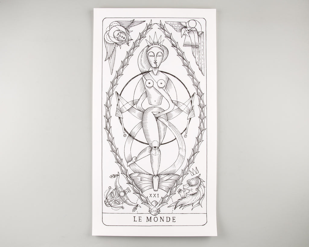 Sabat Magazine 5: : Le Tarot de L'étoile Cachée – Major & Minor Arcana - 8
