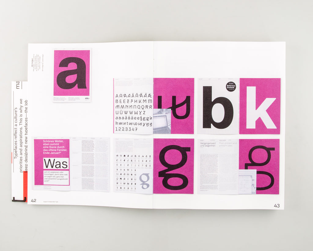 Support Independent Type by Marian Misiak & Lars Harmsen - Cover