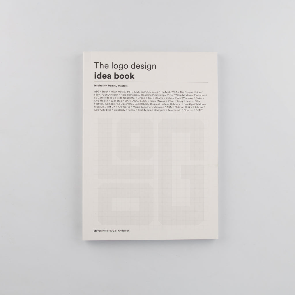 Logo Design Idea Book by Steven Heller and Gail Anderson - 1