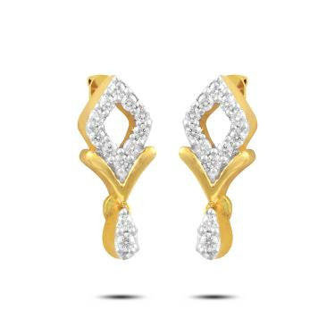 Little Heart Diamond Earrings