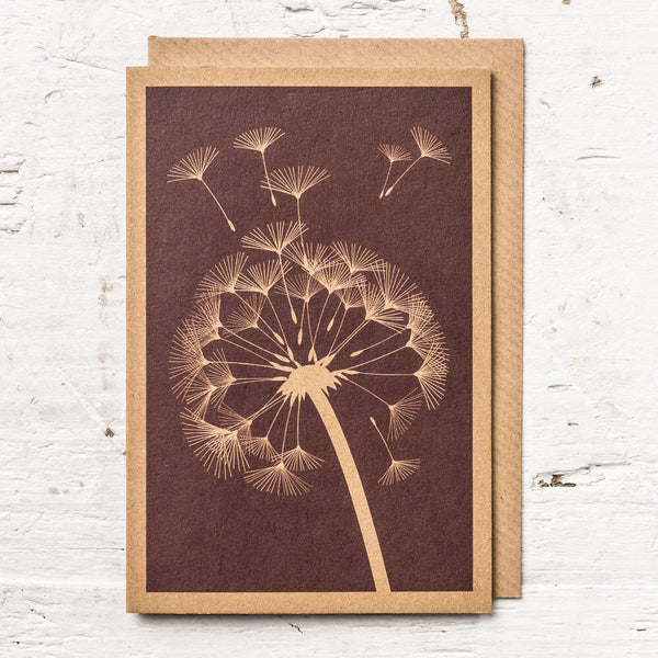 Dandelion Clock Greeting Card