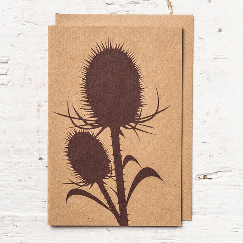 Teasel Greeting Card