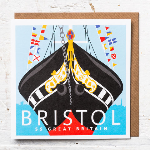 SS Great Britain Greeting Card