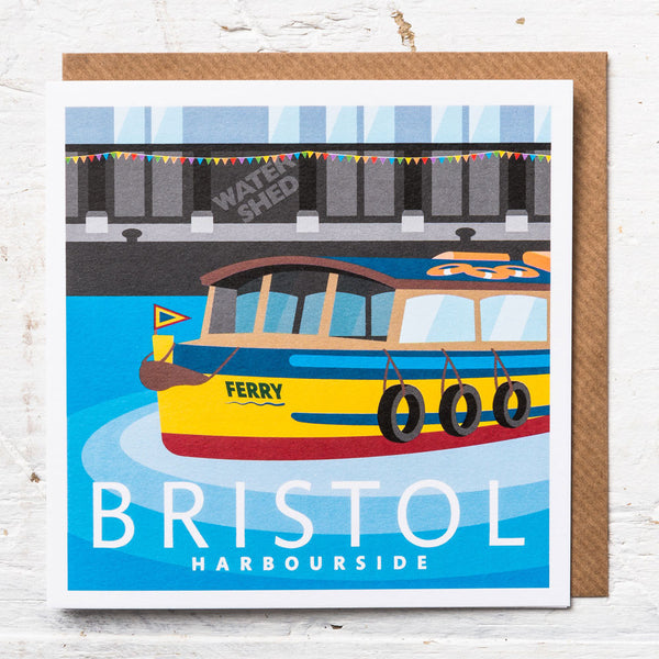 Harbourside Greeting Card