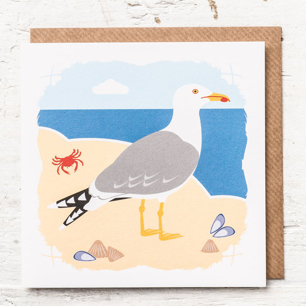 Herring Gull Greeting Card