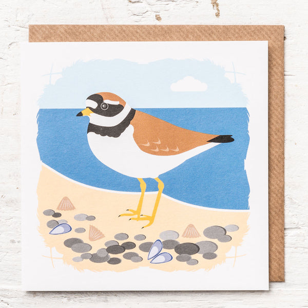 Ringed Plover Greeting Card