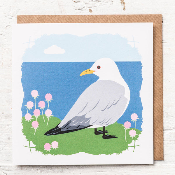 Kittiwake Greeting Card