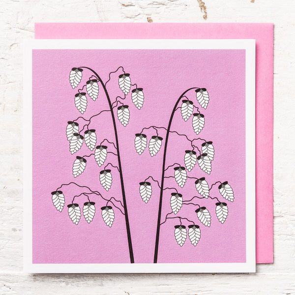 Quaking Grass Greeting Card