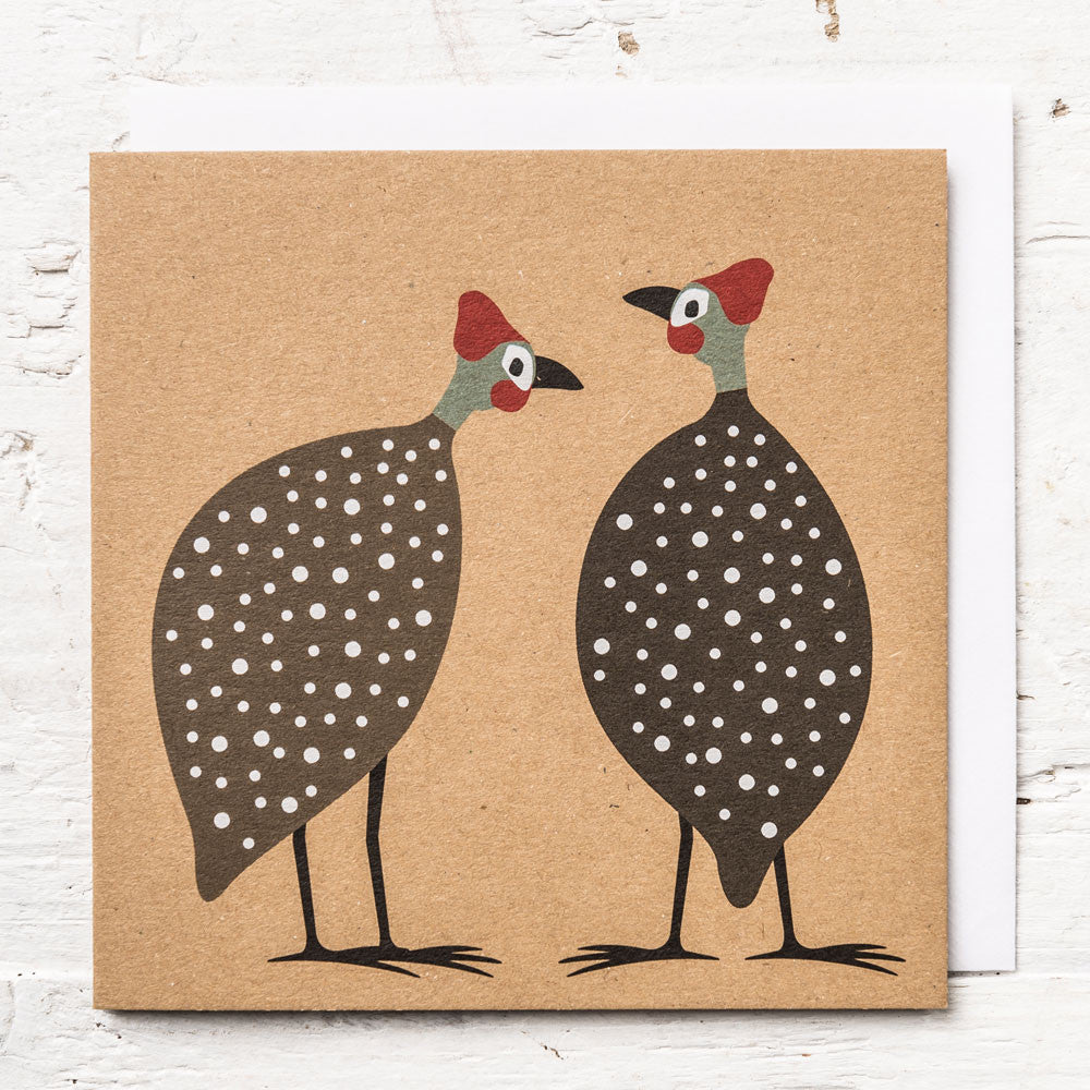 Two Pourquois Greeting Card