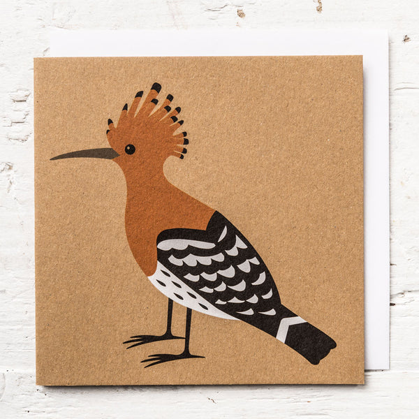 Mr Hoopoe Greeting Card