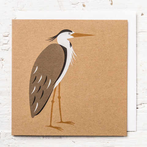 Mr Heron Greeting Card