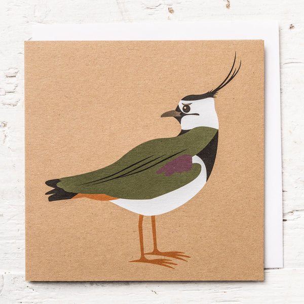 Mr Lapwing Greeting Card
