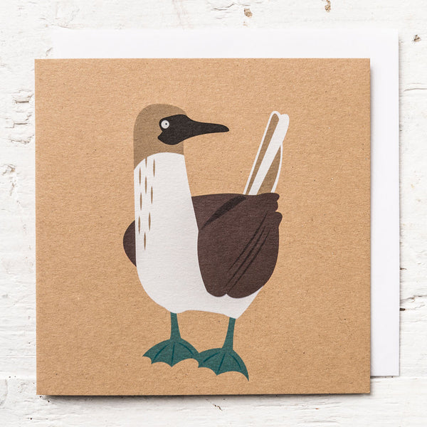 Mr Blue-footed Booby Greeting Card