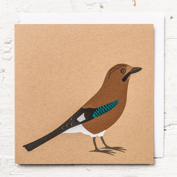 Mr Jay Greeting Card