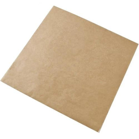 Natural Parchment Paper Squares 27LB Silicone Coated (All Sizes)