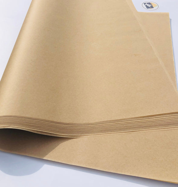 Silicone Coated 27lb Natural Parchment Paper Sheets (All Sizes Available)
