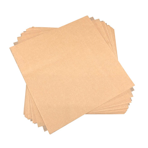 Eco Friendly Natural Baking Parchment Paper Squares (All Sizes Available)