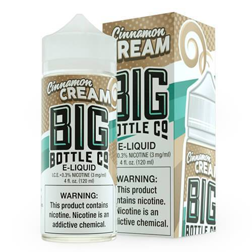 Big Bottle Co. E-Juice - Cinnamon Cream - 120ml
