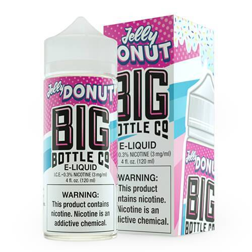 Big Bottle Co. E-Juice - Jelly Donut - 120ml
