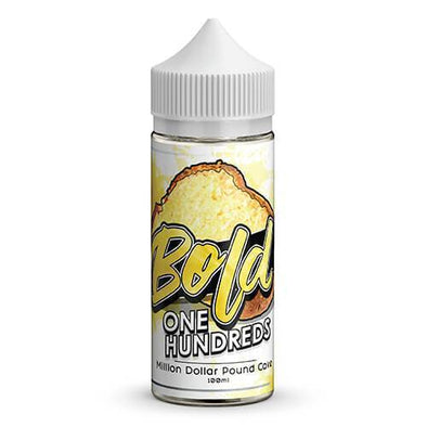 Bold One Hundreds - Million Dollar Pound Cake - 100ml