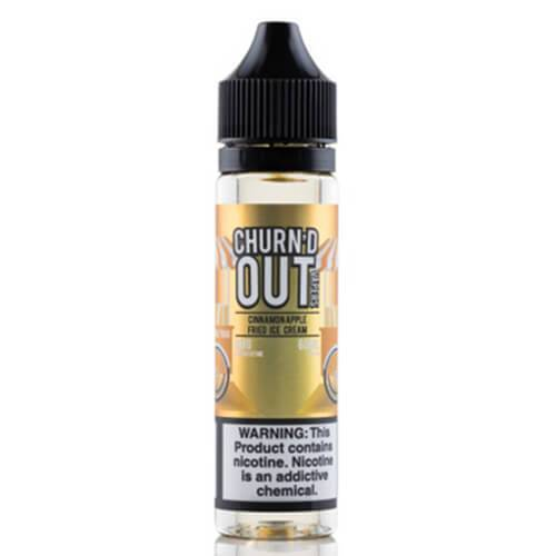 Churn'd Out Vaporz - Cinnamon Apple Fried Ice Cream - 60ml