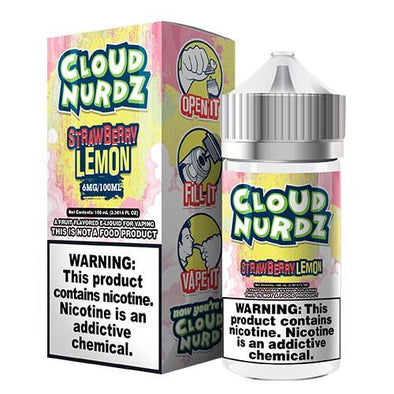 Cloud Nurdz eJuice - Strawberry/Lemon - 100ml