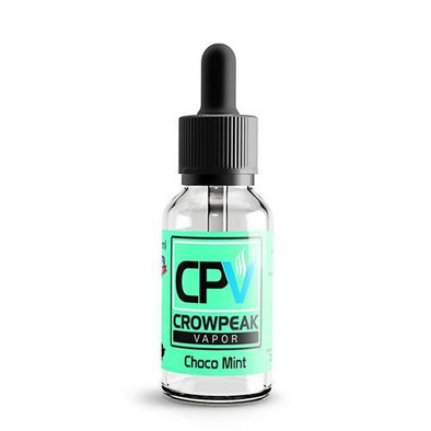 CPV Signature Series by Crow Peak Vapor - Choco Mint Ice - 120ml