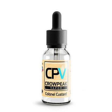 CPV Signature Series by Crow Peak Vapor - Colonel Custard - 30ml