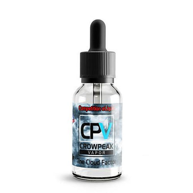 CPV Signature Series by Crow Peak Vapor - The Cloud Factor - 30ml