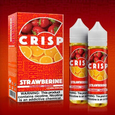 Crisp eLiquid - Strawberine - 120ml