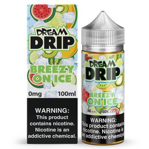 Dream Drip - Breezy On Ice eJuice - 100ml