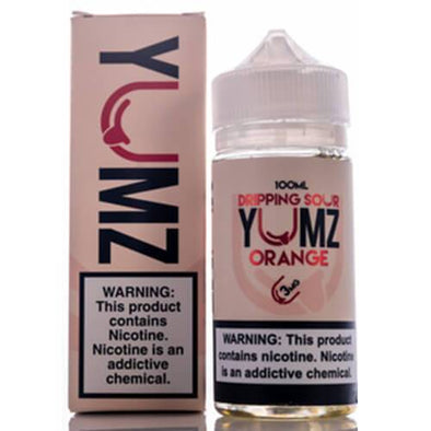Dripping Sour eLiquid - Yumz Orange - 100ml