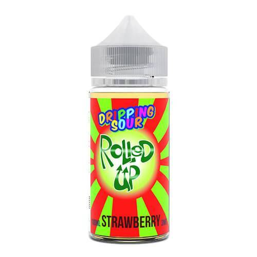 Dripping Sour eLiquid - Rolled Up Strawberry - 100ml