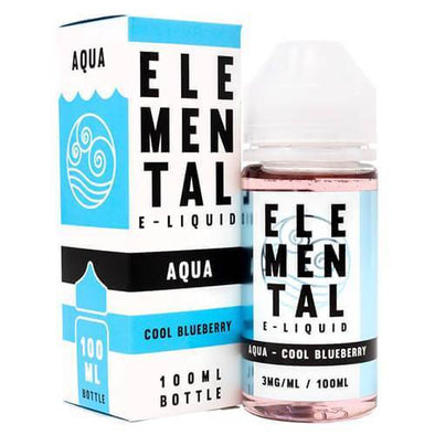 Elemental E-Liquid - Aqua - 100ml