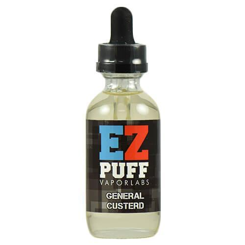 EZ PUFF eJuice - General Custerd - 30ml