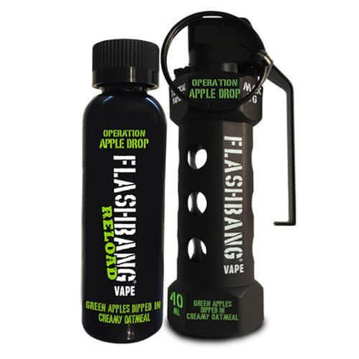 Flashbang Vape - Operation Apple Drop Combo Pack - 60ml