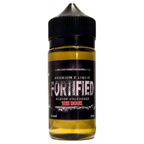 Fortified Premium E-Liquid - The Rock - 100ml