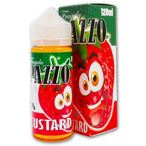 Fragola Pazzo (Crazy Strawberry) eJuice - Strawberry Custard - 120ml
