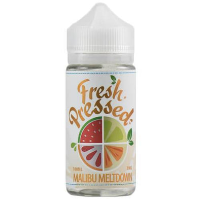 Fresh Pressed eLiquids - Malibu Meltdown - 100ml