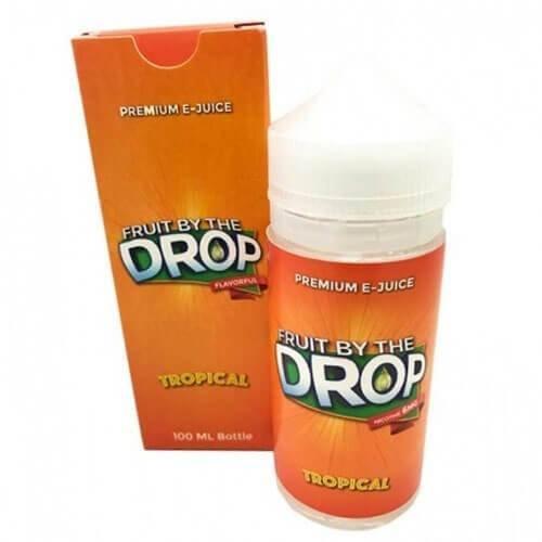 Fruit By The Drop Premium eJuice - Fruit by the Drop Tropical - 100ml