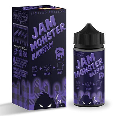 Jam Monster eJuice - Blackberry (Limited Edition) - 100ml