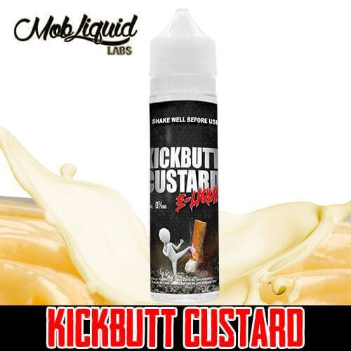 Kickbutt Custard eLiquid - Kickbutt Custard - 60ml