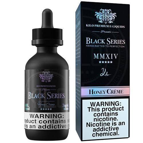 Kilo eLiquids Black Series  - Honey Creme - 60ml