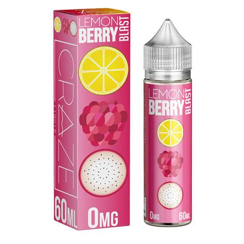 CRAZE Liquid - Lemon Berry Blast - 60ml
