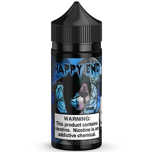 Happy End E-Liquid - Blue Cotton Candy - 100ml