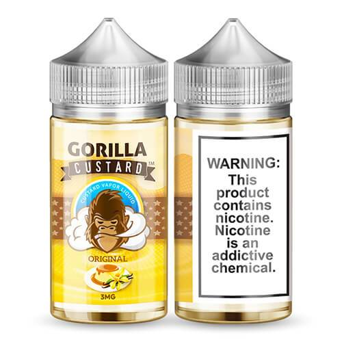 Gorilla Custard eLiquid - Original - 100ml