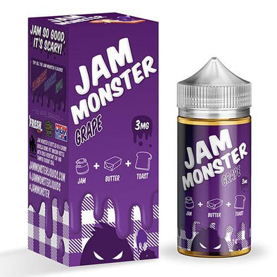 Jam Monster eJuice - Grape - 100ml
