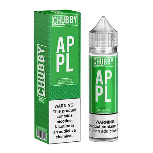 Chubby Bubble Vapes - Bubble Apple - 60ml